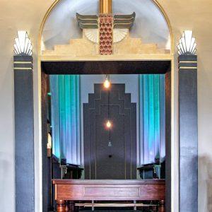 Kinselas funeral chapel, now Kinselas hotel snooker room (1932)