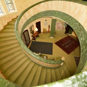 Mahratta (1941) entry foyer and staircase