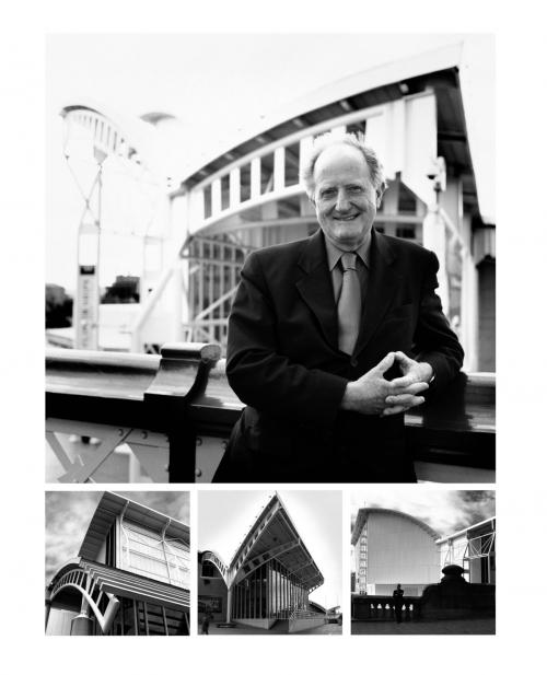 Phillip Cox, architect.