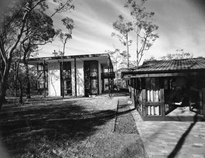 Pettit & Sevitt architects, Richmond Road, c.1967. Photo courtesy of the Australian Institute of Architects.