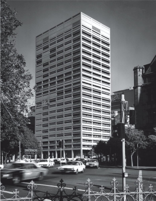 The Law Courts (c.1977) as designed by McConnel Smith and Johnson