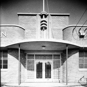 Entrance porch (taken for Building Publishing Co) c.1944.