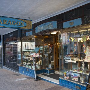 The Paragon Restaurant in Katoomba, which has now closed down. Photo: © Effy Alexakis.