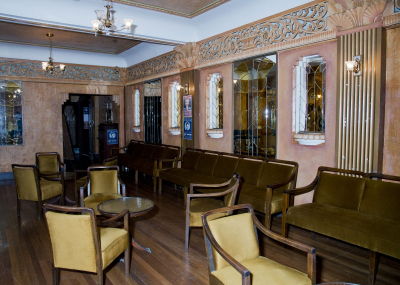 One of the 1930s interiors at the Paragon Restaurant in Katoomba. Photo: © Effy Alexakis.