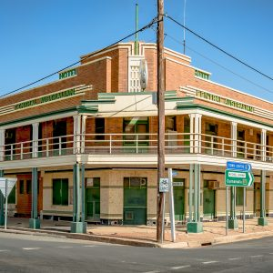 The Central Australian Hotel (c.1937) in Bourke NSW.