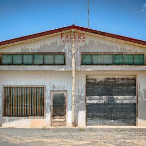 Former Facer's Service Station Brewarrina, NSW.