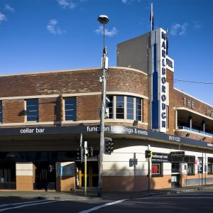 The Marlborough Hotel, Newtown.