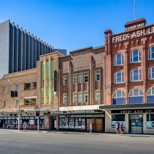 Variety of Buildings in Newcastle NSW.