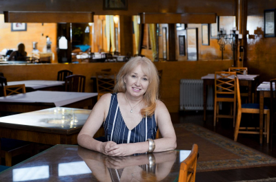 In May 2011, Robyn Parker became proprietor of the Paragon. She played an important role in having the place listed in the State Heritage Register. After the Paragon closed down, Robyn started operating from a different premises. Photo: © Effy Alexakis.