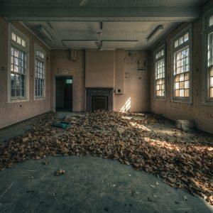 Former psychiatric hospital, regional NSW.