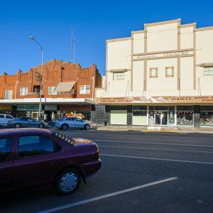 Former Strand Theatre, Hoskins Street, Temora, NSW Australia.