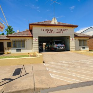 Temora District Ambulance Station, Hoskins Street, Temora NSW
