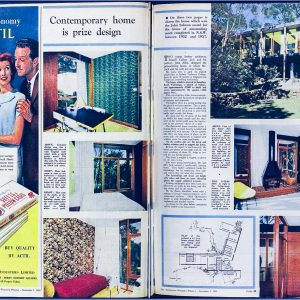 Russell Jack House, Australian Women's Weekly 3 Sep 1958
