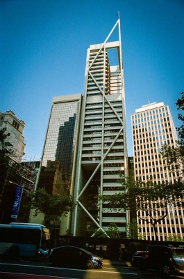 The Capita Centre, now known as 9 Castlereagh Street. The building was designed by Harry Seidler and completed in 1989.