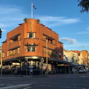 The Light Brigade Hotel, Oxford Street, Paddington.
