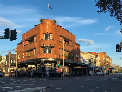 The Light Brigade Hotel, Oxford Street, Paddington.