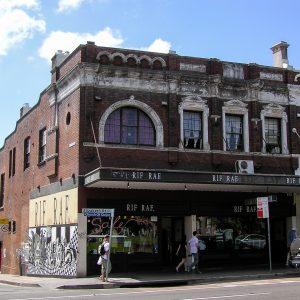 Corner of Elizabeth and Oxford streets, Paddington.